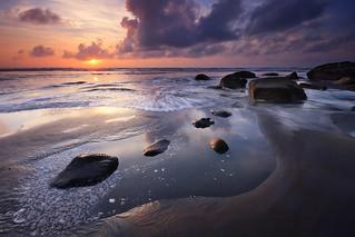 Tongaporutu Sunset