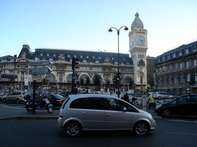 Rental Car Near the Gare De Lyon