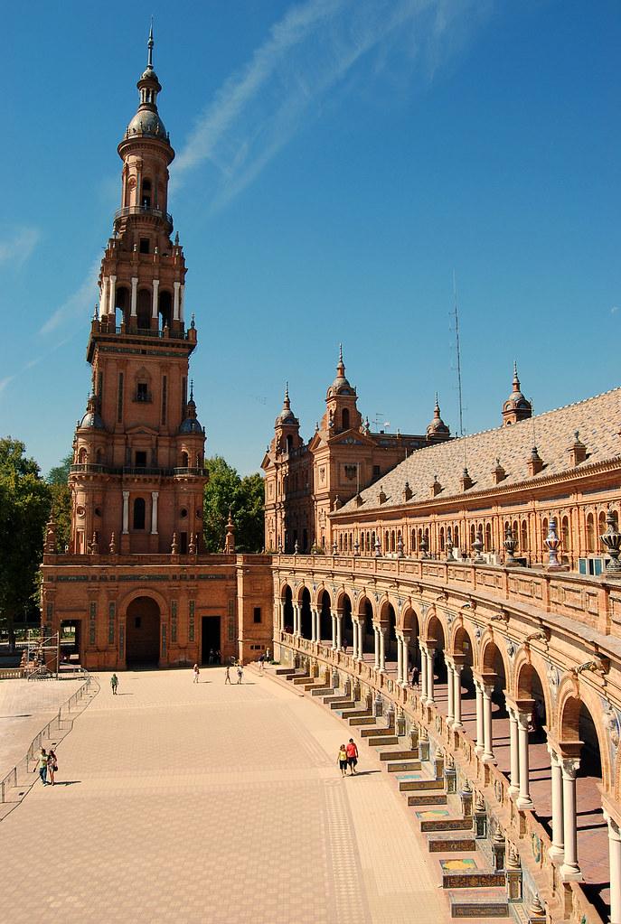 Lateral Plaza de España Sevilla