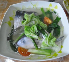 produce(0.0), meal(1.0), lunch(1.0), vegetable(1.0), fish(1.0), sinigang(1.0), food(1.0), canh chua(1.0), dish(1.0), soup(1.0), cuisine(1.0),