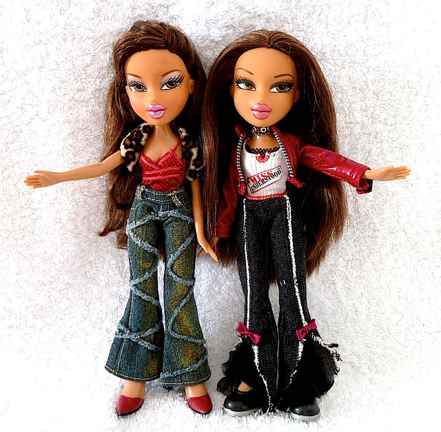 flickriver photoset bratz twins triplets by migglemuggle