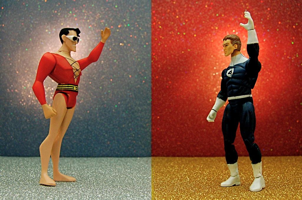 Plastic Man vs. Mister Fantastic (289/365)