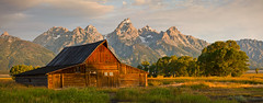 Wyoming, Grand Teton and Yellowstone.