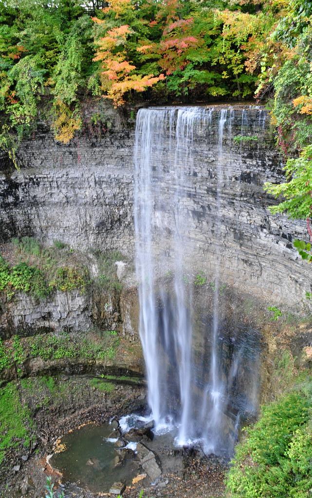 Waterfalls in Hamilton: Tew's Falls