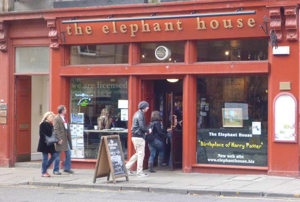 Edinburgh - The Elephant House