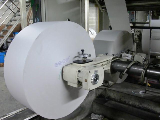 Un rouleau de 7 km de papier