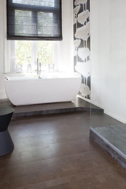 cork flooring bathroom flickr photo
