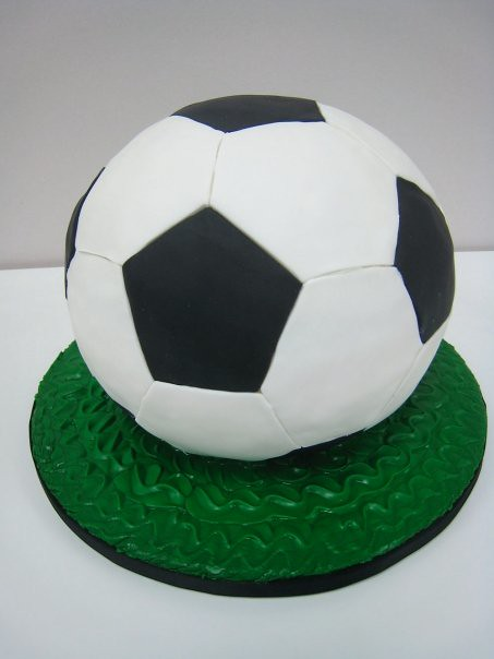 Cake With Ball Design : soccer ball cake Flickr - Photo Sharing!