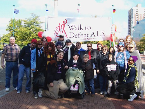 ALS Walk 2010 - Fiver's Flamingos