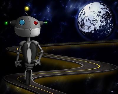 Ciberspace robot