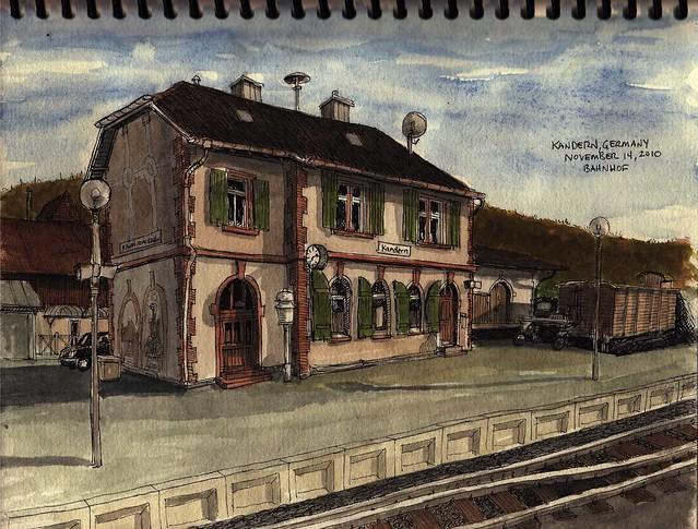 Bahnhof- Kandern, DE