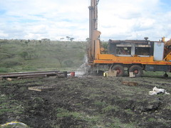 Drilling in Kenya