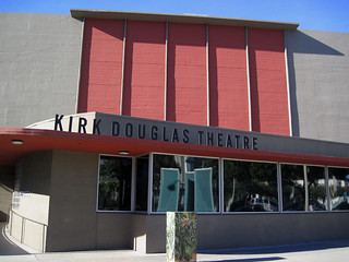 Kirk Douglas Theater, as Seen From South - 11/14/10