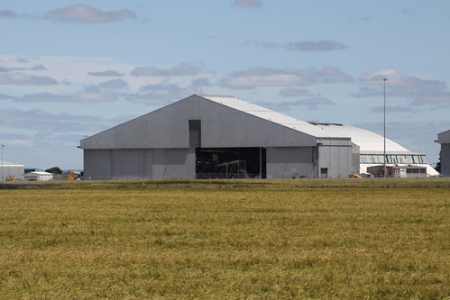 Hangar 5 at Avalon, used for Qantas maintenance work