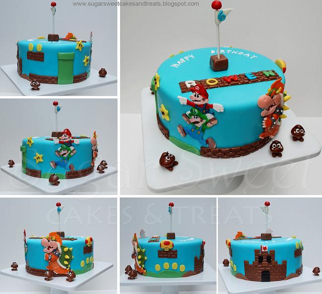 Edible Bowser Cake Images