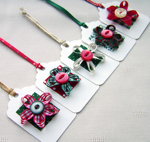Handmade christmas gift tags flickr photo sharing for Custom tags for crafts