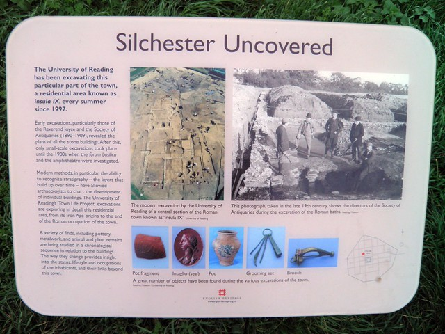 Silchester Uncovered (Panel), Calleva Atrebatum