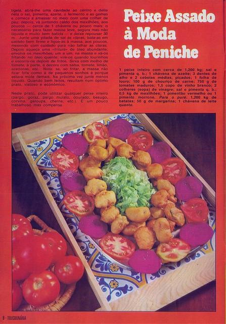 Tele Culinária e Doçaria, Especial Outono, Setembro 1980 - 6