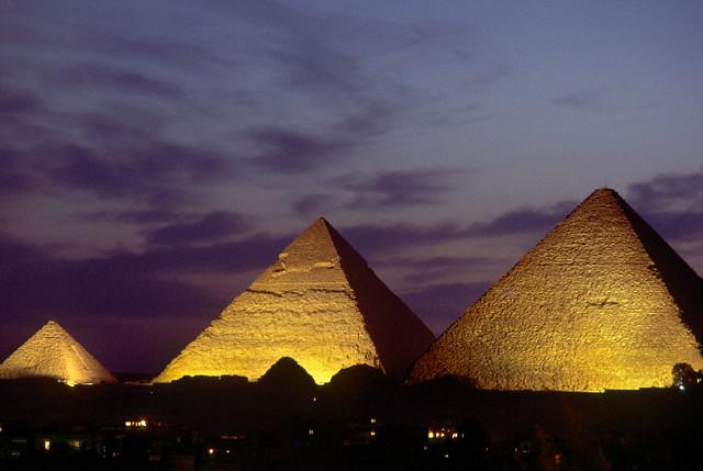 Giza Pyramids | Flickr - Photo Sharing!