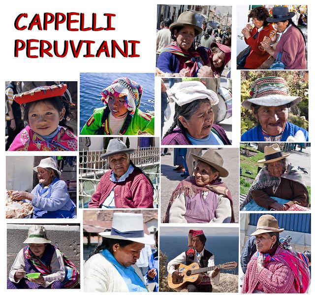 14 peruvian hats / Cappelli peruviani