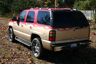 2001 Tahoe 2 Tone Custom Paint