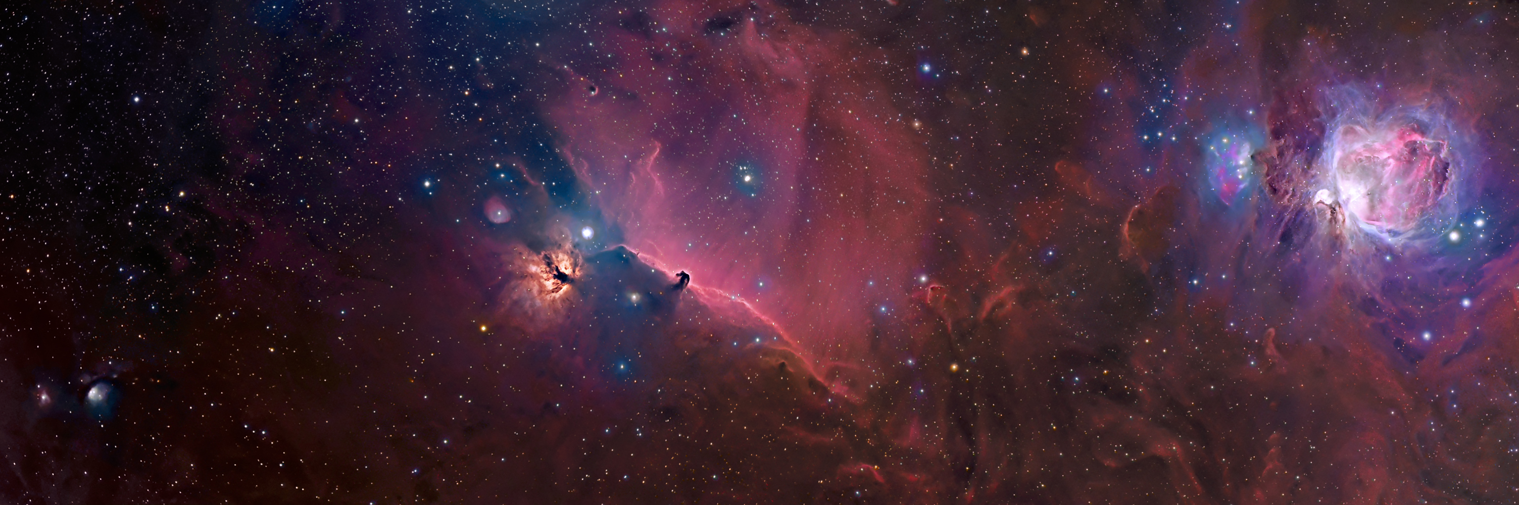 Orion Constellation Panorama Flickr Photo Sharing