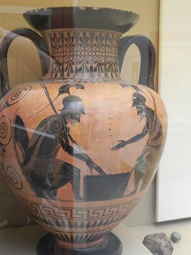 Ayax et Achilles   Art Céramique