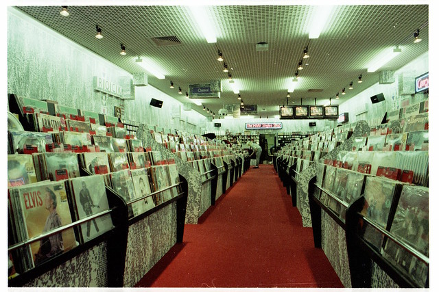 hmv Nottingham 1985