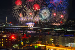 Seattle Celebrates America's 241st Birthday