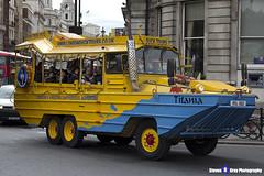 GMC DUKW - RSL 602 - Titania - London Duck Tours - London 2017 - Steven Gray - IMG_0405