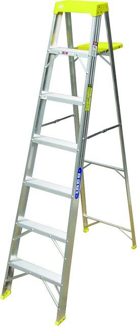 Escalera tipo tijera de aluminio de uso comercial flickr for Tipos de escaleras de aluminio
