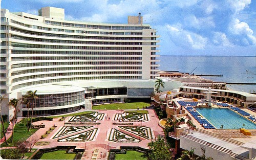 Fontainebleau Hotel Miami Beach FL 1957