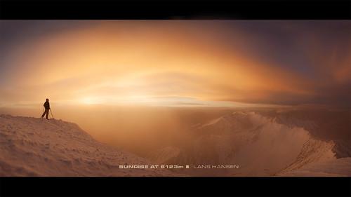 india sunrise mountaineering summit himalaya leh ladahk stokkangri