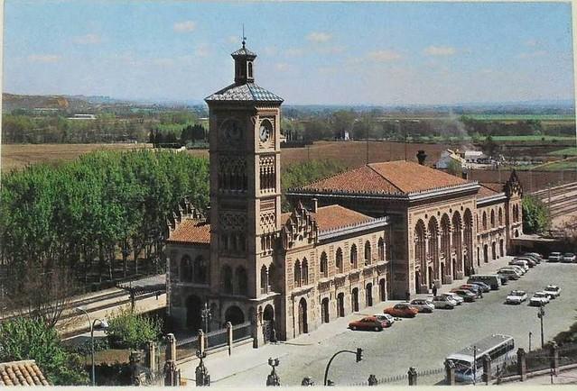 Estación de ferrocarril en los años 90