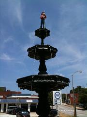 Firemen's Memorial Statue