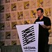 Thomas Jane presenting at the Eisners 2010