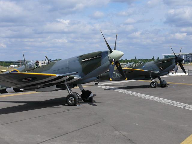 Warbirds: Spitfires