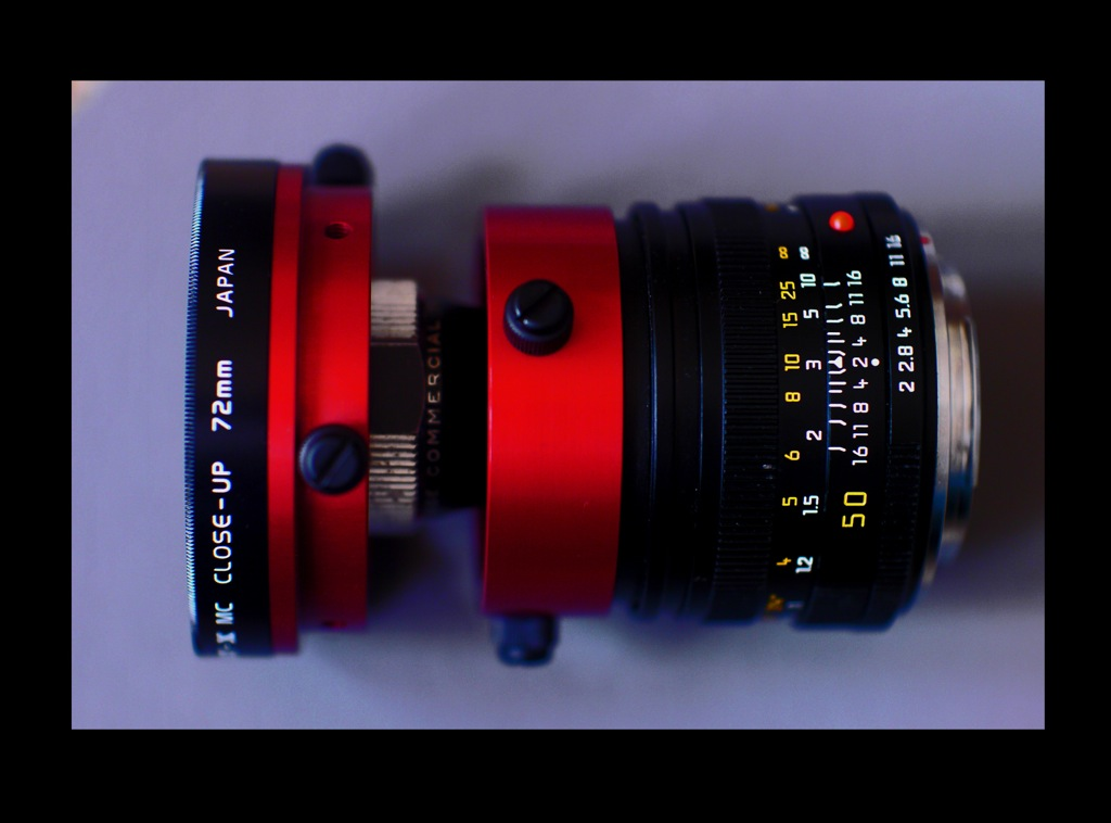 compact anamorphic combo..baby hypergonar and leica  r 50mm.