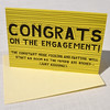 Congrats on the engagement