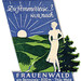 Germania - Frauenwald by Luggage Labels by b-effe