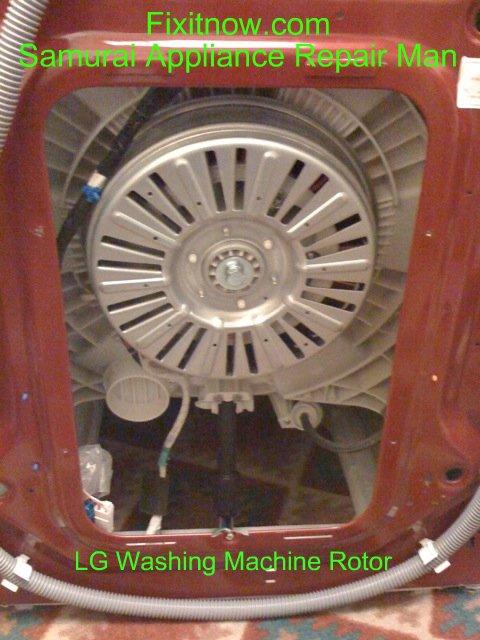 washing machine rotor