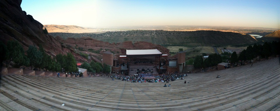 Red Rocks pano