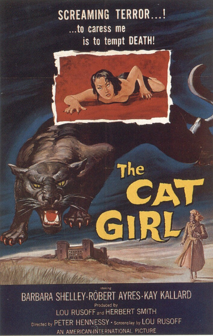 Cat Girl, The (Poster)
