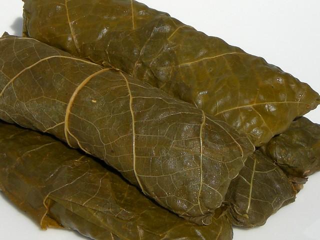 maḥshi | Egyptian stuffed grape-leaves. seelensturm.de/?id ...