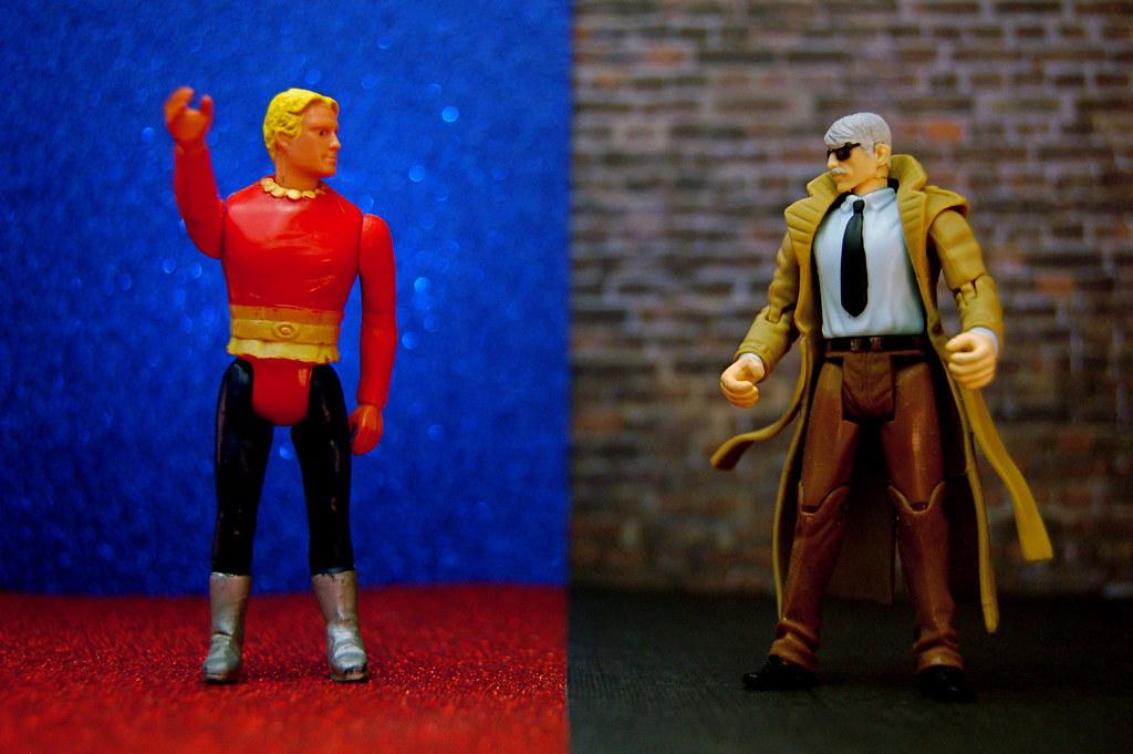 Flash Gordon vs. Commissioner James Gordon (249/365)