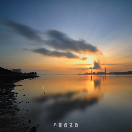 sunrise singapore laut samosa johor singapura syawal bahru selat tebrau naza tambak stulang naza1715 nazarudin wijee