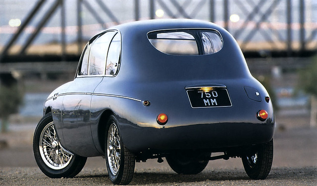 1949 Fiat 750 MM Panoramica Zagato - gray - rvl