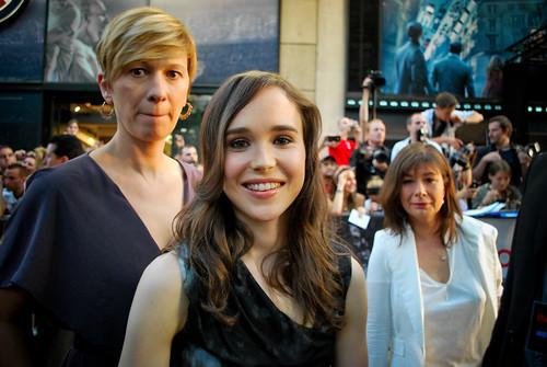 Premiere Inception - Ellen Page
