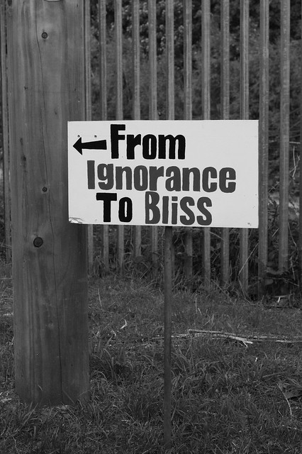 Project 365: Day 52 - From Ignorance to Bliss