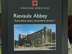 Rievaulx Abbey-Yorkshire.